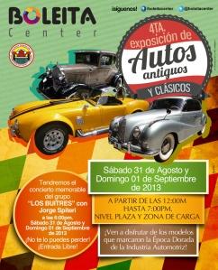 afiche 88x109 expo autos