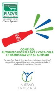 Coca Cola y Plaza´s